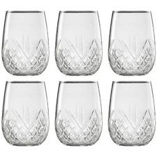 Ecology Carmen 490ml Stemless Wine Glasses (Set of 6)