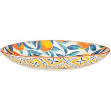 Ecology Punch Orange 31cm Stoneware Shallow Bowl