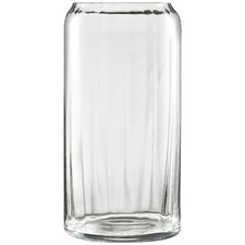 Clear Ecology Twill Crystalline Vase