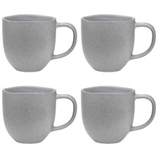 Pebble Ecology Dwell 340ml Stoneware Mugs (Set of 4)