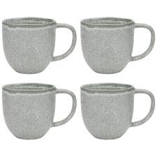 Jade Ecology Dwell 340ml Stoneware Mugs (Set of 4)