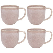 Dewberry Ecology Dwell 340ml Stoneware Mugs (Set of 4)