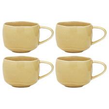 Honey Ecology Pepa 400ml Stoneware Mugs (Set of 4)