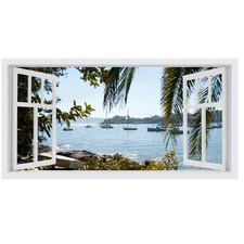 Kutti Vista Stretched Canvas