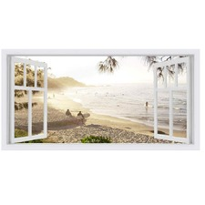 Watagoes West Window Stretched Canvas