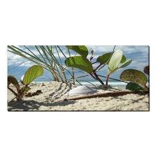 Ocean Shores Stretched Canvas