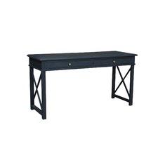 Anna Desk Black Oak