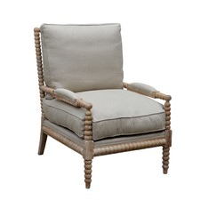 Allie Armchair White Washed