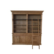 Polson Oak Wood Bookcase