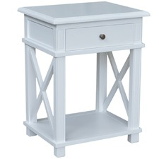 Hamptons X-Brace Birch Side Table