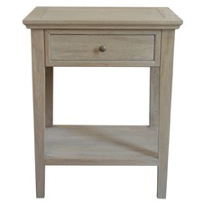 Ashiya Side Table Weathered Oak