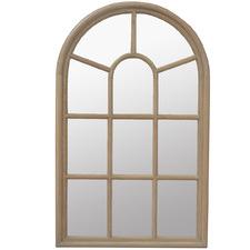 Framed Jamie Oak Arched Mirror