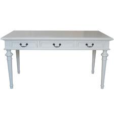 White Phillip Scott Birch Wood Console Table