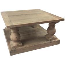 Recycled Pine Wood Balustrade Coffee Table