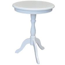 Aria Oak Wood Side Table