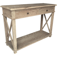 Light Timber Embrace Oak Console Table