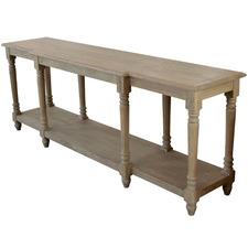 Providence Oak Wood Console Table