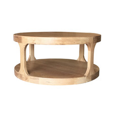 Natural Franz Oak Wood Coffee Table