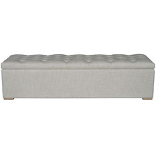 Large Chelsea Linen Blanket Box