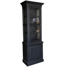 French Wooden Display Cabinet