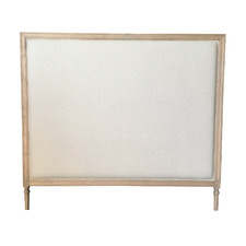 Abbey Linen Queen Headboard