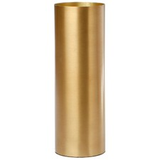 Brass Fynn Polished Cylinder Vase