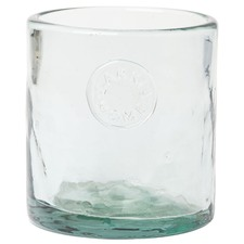 Aqua Sentro Glass Votive