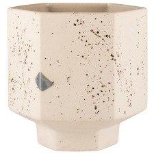 Confetti Carved Ceramic Pot