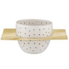3 Piece Brass Mason Tea Strainer Set