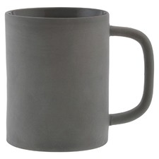 Grey Classic Denso 300ml Ceramic Mug