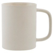 White Classic Denso 300ml Ceramic Mug