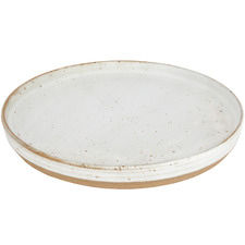 Large Seagrass Amity Speckle Ceramic Plate
