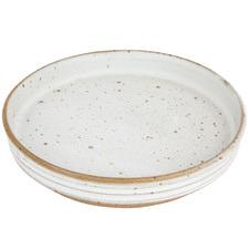 Small Seagrass Amity Speckle Ceramic Plate