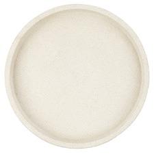 White Round Concrete Tray