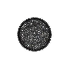 Black Seashell Terrazzo Round Tray