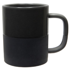 Black Glazed Classic 300ml Mug