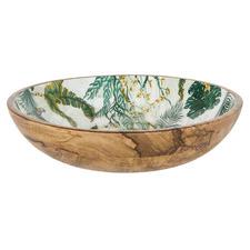 Oasis 30cm Mango Wood Serving Bowl