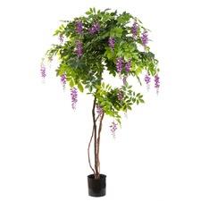 190cm Wisteria Tree Purple