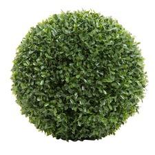 28cm Green Artificial Boxwood Ball