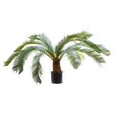 100cm Faux Tall Cycus Palm