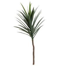 36 Leaves Faux Yucca Stem