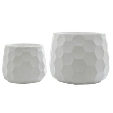 2 Piece Honeycomb Pot Set