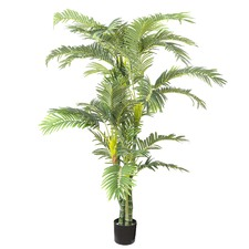 180cm Twisted Trunk Parlour Tall Faux Palm