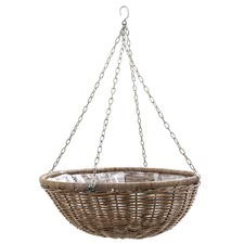 Chegel Faux Rattan Hanging Planter