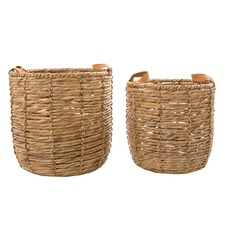 2 Piece Playa Cuero Basket Set