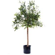 70cm Green Faux Olive Topping Tree