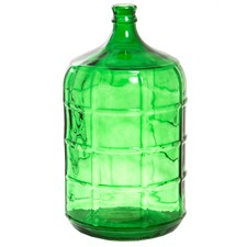 Large Greenfield Glass Vase