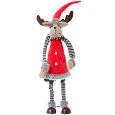 Vixen Christmas Deer Ornament