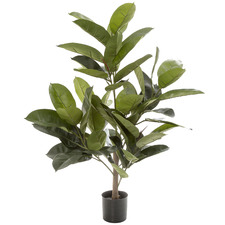 96cm Potted Faux Rubber Tree