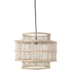 Haiti Rattan Pendant Light
